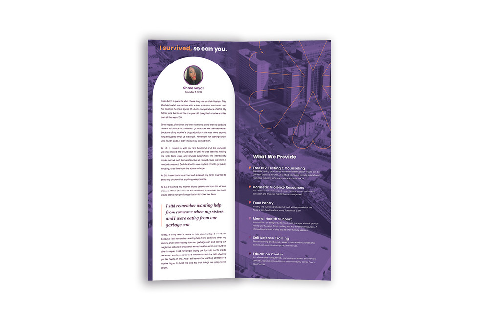 Annie's Girls Introductory Brochure