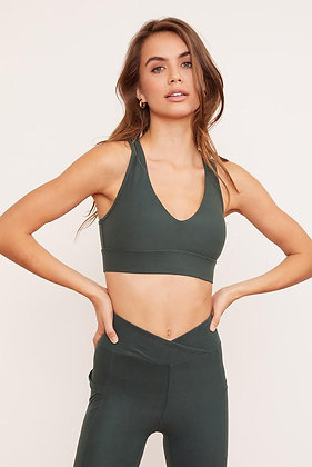 Wolven Racerback Top Thyme