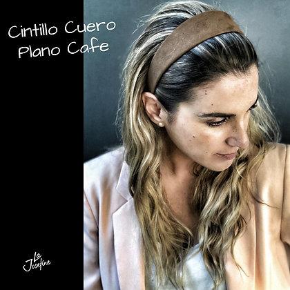 Cintillo Cuero Plano Café (CCPCAFE)