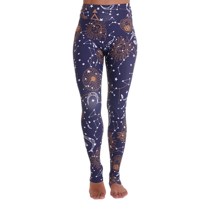 Extra Long Eco Legging Astral Map