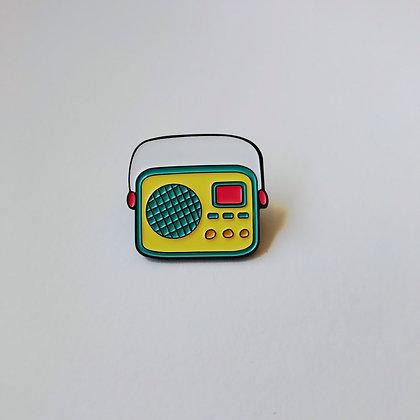 Pin Radio Vintage