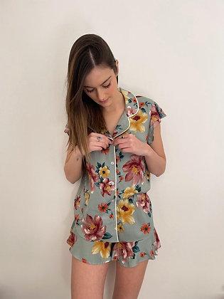 Pijama Vuelos Celeste