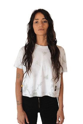 Polera Tie Dye Algodon Organico Mujer Multi Sky (polmskytee)
