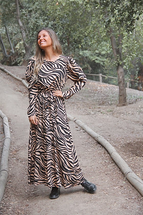Vestido Valencia Cebra Largo (VVCL)