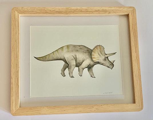 Cuadro Dinosaurio II