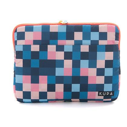 Forro Mitú 01.01 - Forro laptop con estampado de cuadros