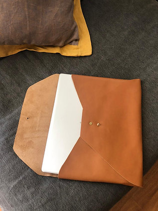 Porta Notebook 13' Caramelo