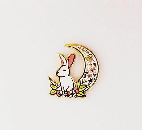 Pin Conejo Luna