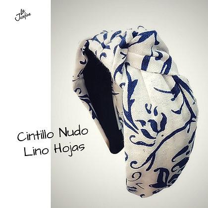 Cintillo Nudo Lino Hojas (CNLINO)