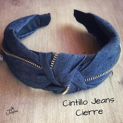 Cintillo Jeans Cierre Oscuro (CJC)