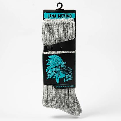 Wool Sock Men Light Grey 2020