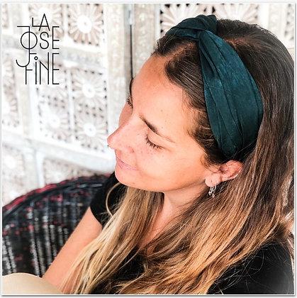 Cinitllo Turbante Raso Verde (Valentina Verde)