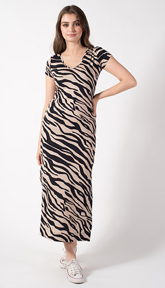 Vestido Rosa Zebra
