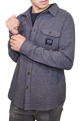 Camisa Urban Algodon Organico Hombre Dark Grey