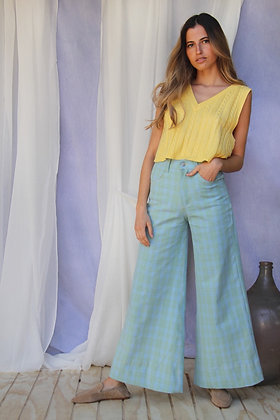 Pantalón Hortensia Celeste