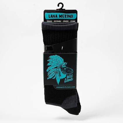 Wool Sock Men Black 2020