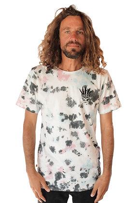 Polera Tie Dye Algodon Organico Hombre Multi Crazy (polhmulcras)