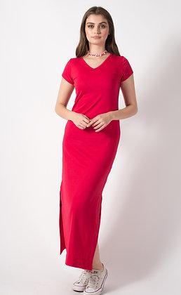 Vestido Rosa Rojo