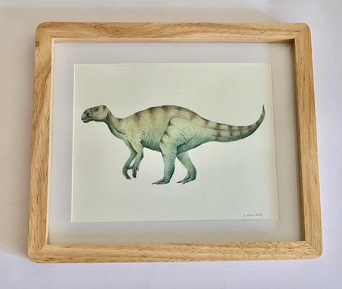 Cuadro Dinosaurio III