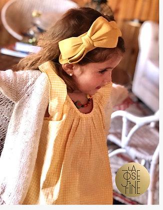 Cintillo Rosetón Amarillo (CR-AMA)