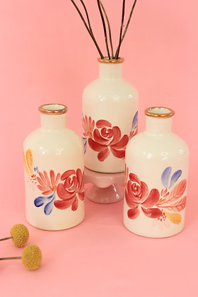 Botella Mediana Flores