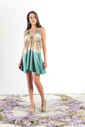 Vestido Rosario Turqueza/T34/248