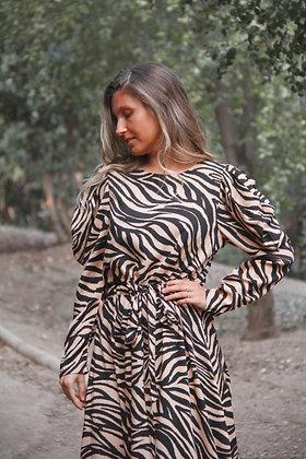 Vestido Valencia Cebra Corto (VVCC)