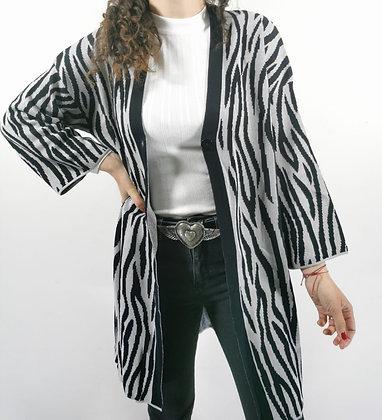 Cardigan Amalia Cebra