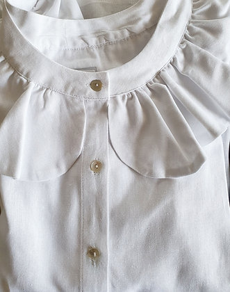 Blusa Carmela Blanca