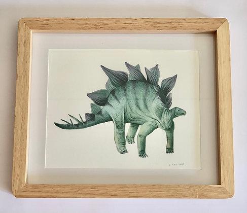 Cuadro Dinosaurio I