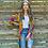 Thumbnail: Kimono Velvet Flores (KV03L)