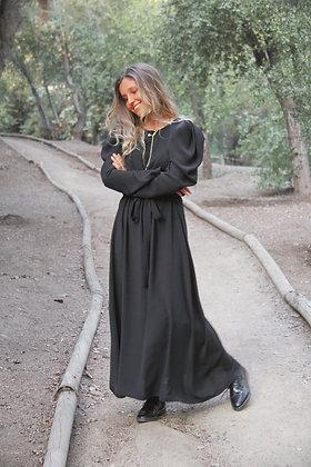 Vestido Valencia Black Largo (VVBL)