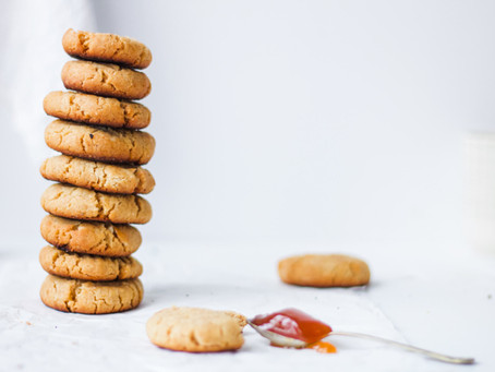 Apricot Jam Biscuits