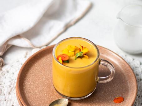 Coconut Golden Latte 🌿