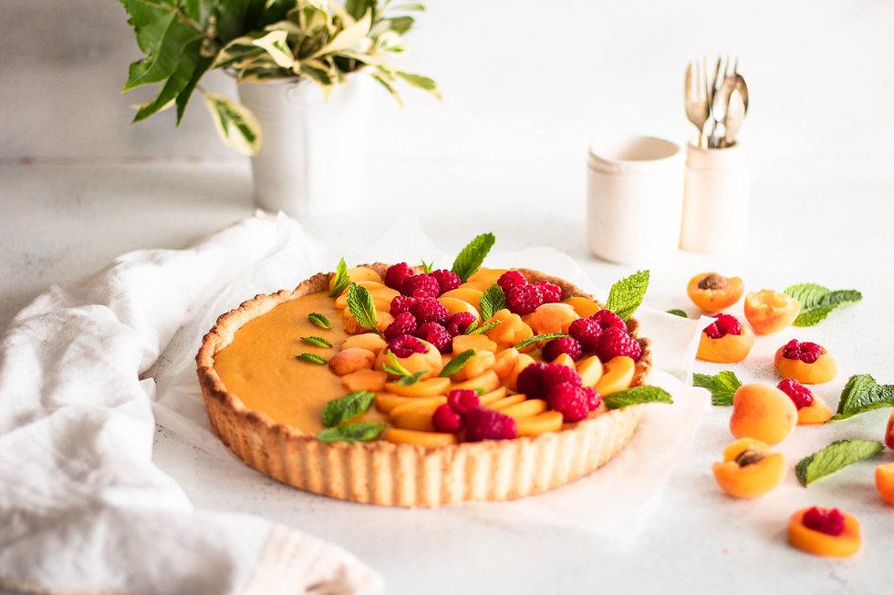 Apricot & raspberry Coconut Tart7.jpg