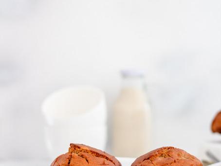 Gluten-free Vegan Milktart and Banana muffins