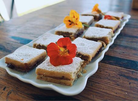 Victorian Vanilla Cake with Apricot Jam
