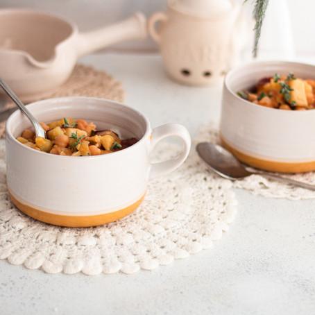 Potato and Chickpea stew 🌿