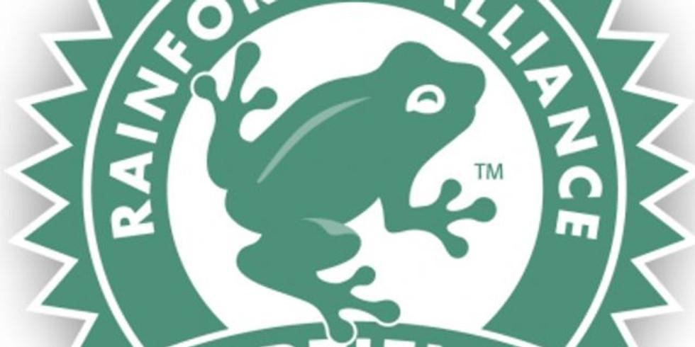 Certificação Agricultura Sustentável Rainforest Alliance
