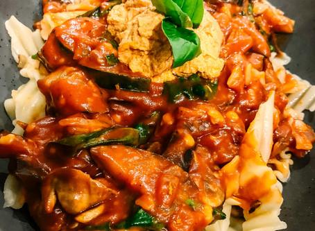 Deconstructed Lasagne - Vegan + Gluten Free