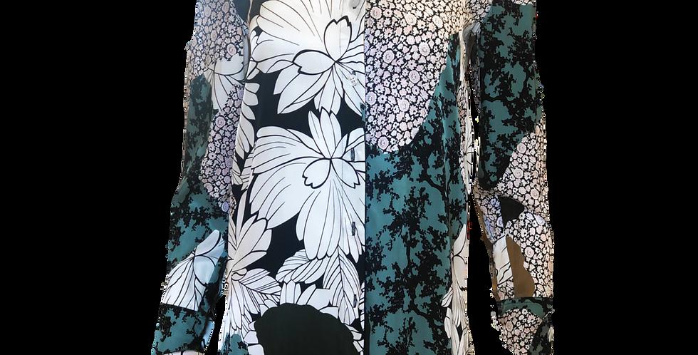 Floral Blouse Button Up