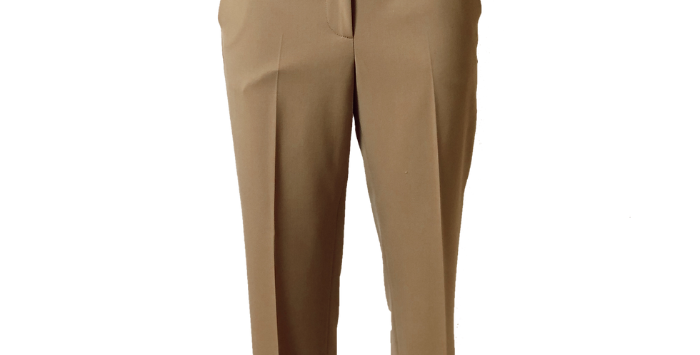 Tan Cuffed Trouser