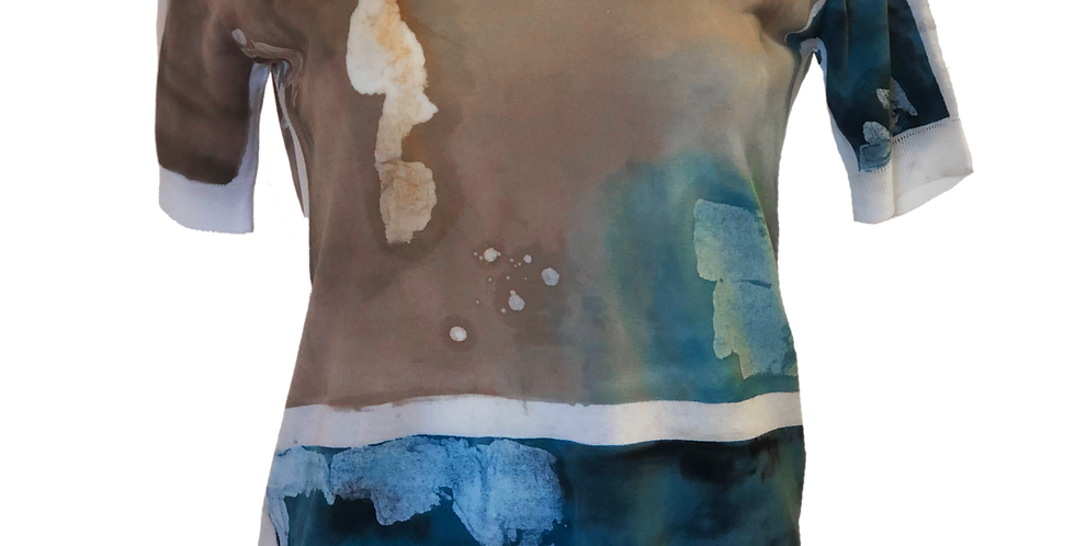 Watercolor Sweater Tee