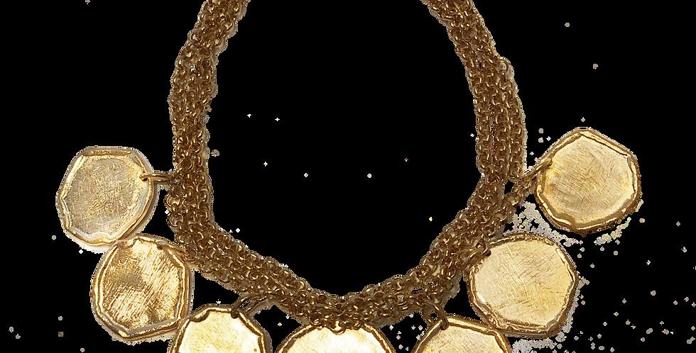 Molten Coin Bracelet