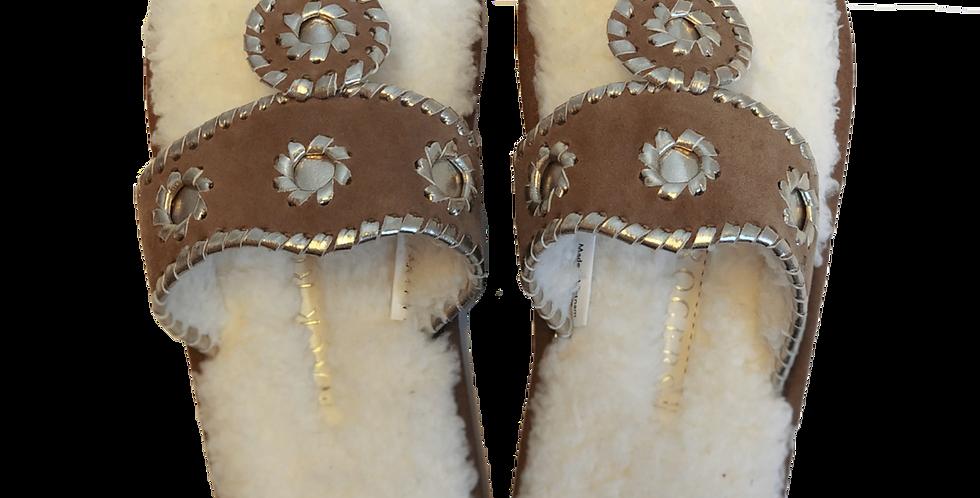 Fluffy Sandals