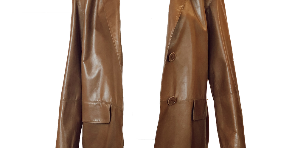 Leather Boyfriend Jacket
