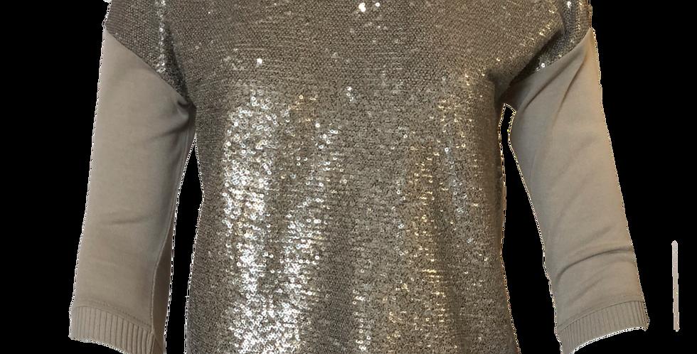 Sequin Knit Top