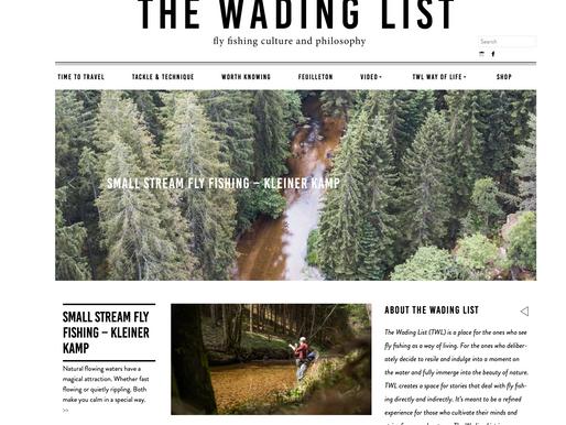 Neues auf The Wading List