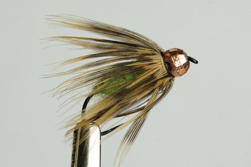 Copper Caddis Lime