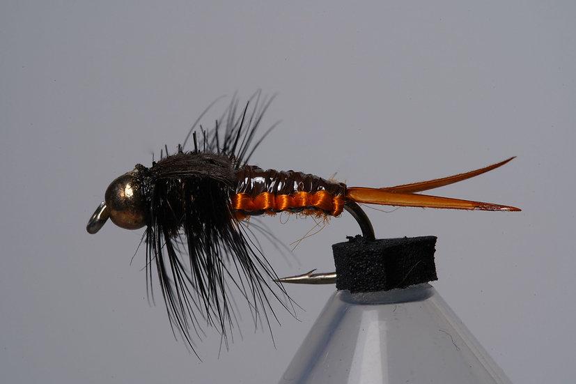 Goldkopf Steinfliege Woven orange